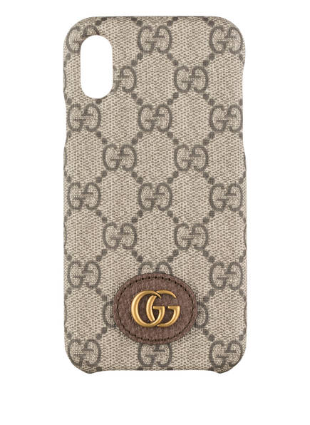 GUCCI Smartphone-Hülle OPHIDIA GG SUPREME, Farbe: BEIGE (Bild 1)