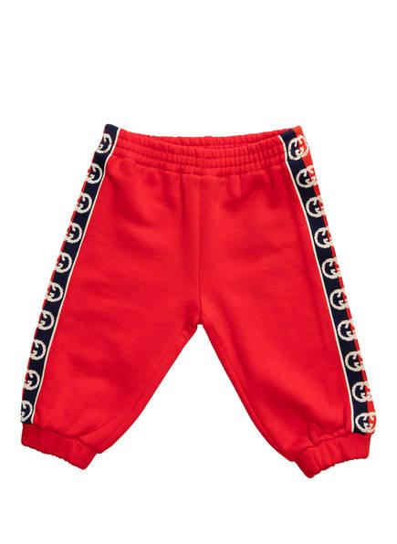 GUCCI Sweatpants, Farbe: ROT (Bild 1)