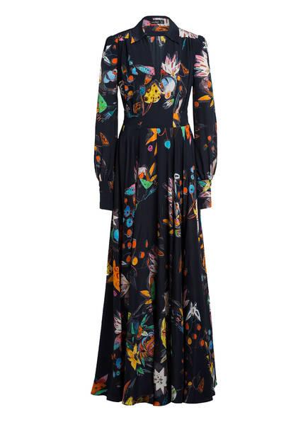 van Laack Seidenkleid, Farbe: DUNKELBLAU (Bild 1)