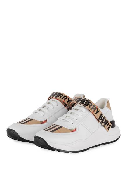 BURBERRY Sneaker RONNIE , Farbe: WEISS/ BEIGE (Bild 1)