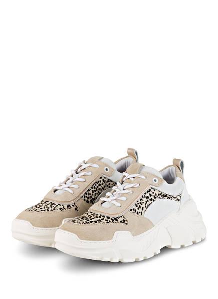 Mrs & HUGS Plateau-Sneaker, Farbe: WEISS/ BEIGE (Bild 1)