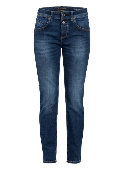 Marc O'Polo Boyfriend Jeans THEDA, Farbe: 010 VINTAGE DARK WASH DARK BLUE (Bild 1)