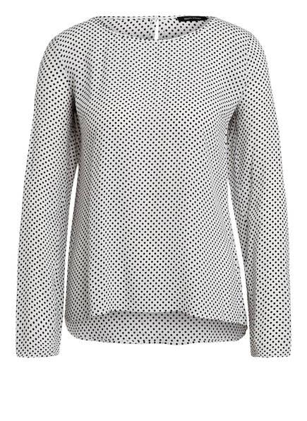 Marc O'Polo Blusenshirt, Farbe: WEISS/ DUNKELBLAU GEPUNKTET (Bild 1)
