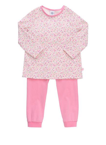 Sanetta Schlafanzug , Farbe: WEISS/ ROSA/ PINK (Bild 1)