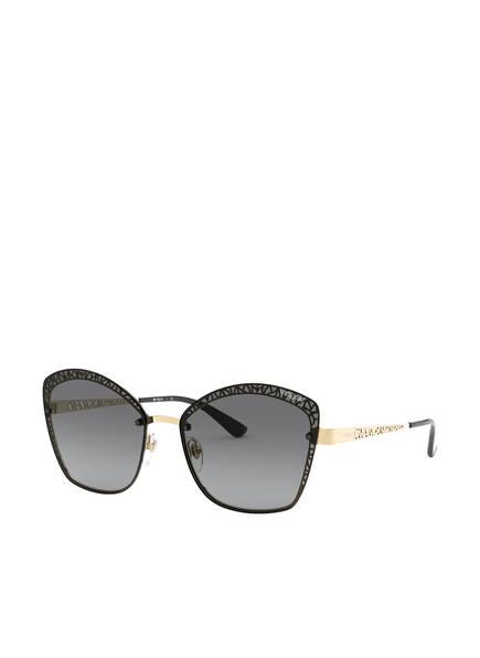 VOGUE Sonnenbrille 0VO4141S, Farbe: 280/11 - DUNKELBRAUN/ GOLD/ BRAUN VERLAUF (Bild 1)
