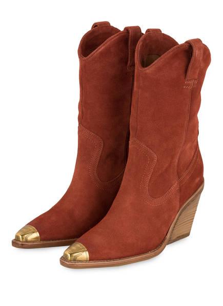 BRONX Cowboy Boots , Farbe: DUNKELORANGE (Bild 1)