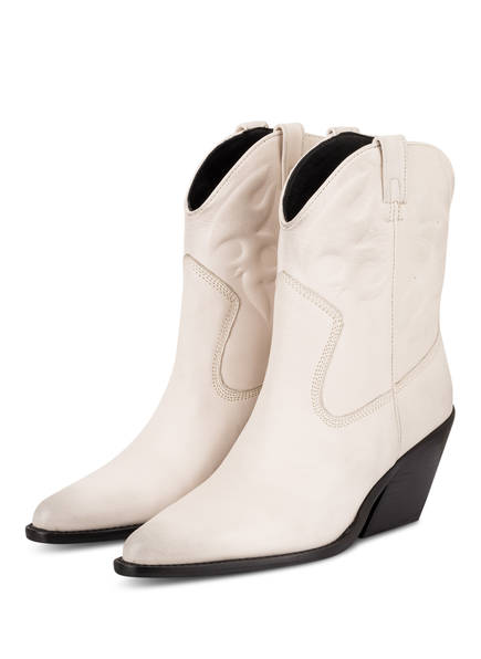 BRONX Cowboy Boots, Farbe: WEISS (Bild 1)