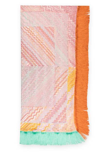 MISSONI Tuch, Farbe: ROSA/ ORANGE/ MINT (Bild 1)