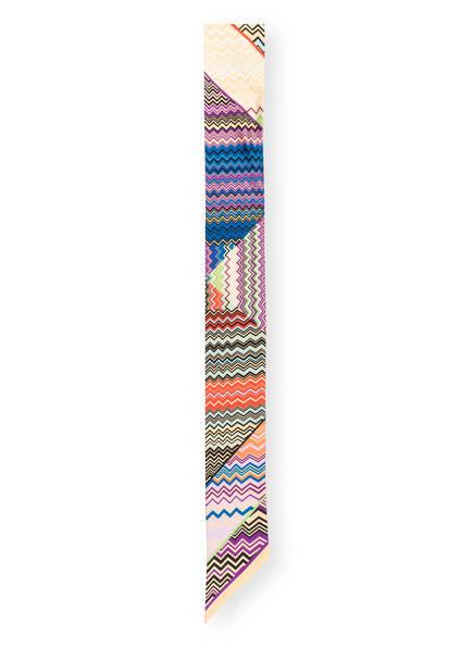 MISSONI Seidenschal, Farbe: BLAU/ SCHWARZ/ ROT (Bild 1)