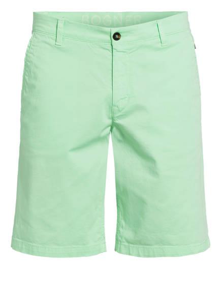 BOGNER Chino-Shorts MIAMI , Farbe: HELLGRÜN (Bild 1)