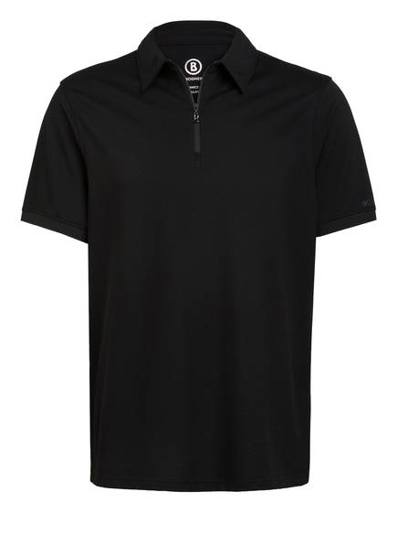BOGNER Piqué-Poloshirt AVON Regular Fit , Farbe: SCHWARZ (Bild 1)