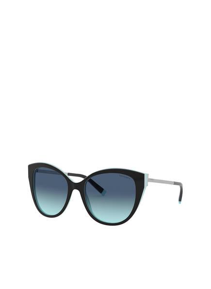 TIFFANY & Co. Sunglasses Sonnenbrille TF4166, Farbe: 80559S - SCHWARZ/ BLAU (Bild 1)