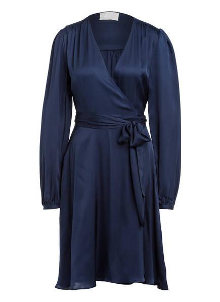 Mrs & HUGS Wickelkleid aus Seide , Farbe: DUNKELBLAU (Bild 1)