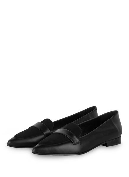 Flattered Loafer, Farbe: SCHWARZ (Bild 1)