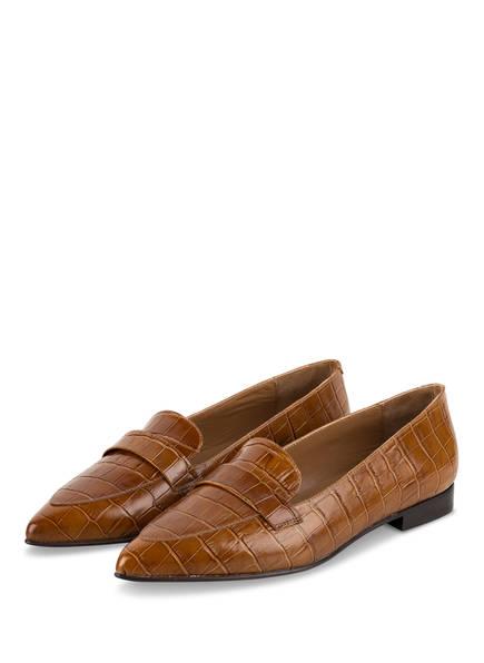 Flattered Loafer ALEXANDRA, Farbe: COGNAC (Bild 1)