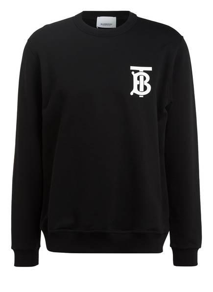 BURBERRY Sweatshirt DRYDEN, Farbe: SCHWARZ (Bild 1)