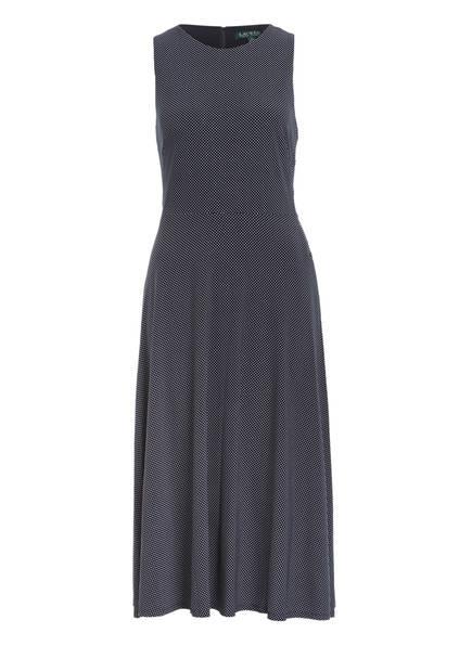 LAUREN RALPH LAUREN Kleid, Farbe: DUNKELBLAU/ WEISS GEPUNKTET (Bild 1)