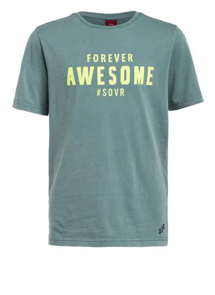 S.Oliver T-Shirt gruen