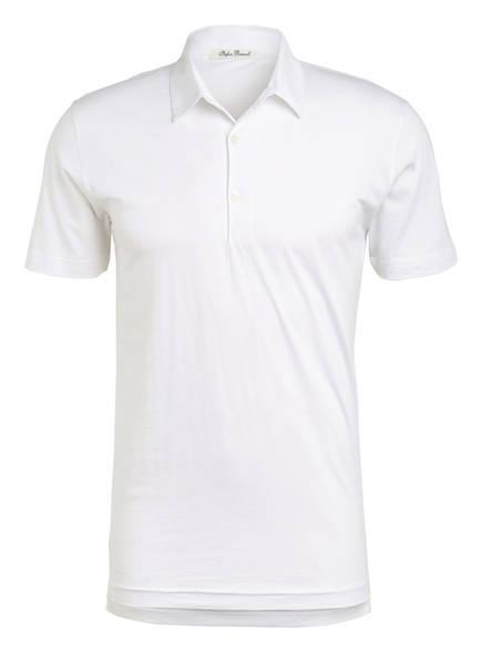 Stefan Brandt Jersey-Poloshirt LUCA, Farbe: WEISS (Bild 1)
