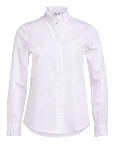 CLAUDIE PIERLOT Bluse mit Rüschenbesatz , Farbe: WEISS (Bild 1)