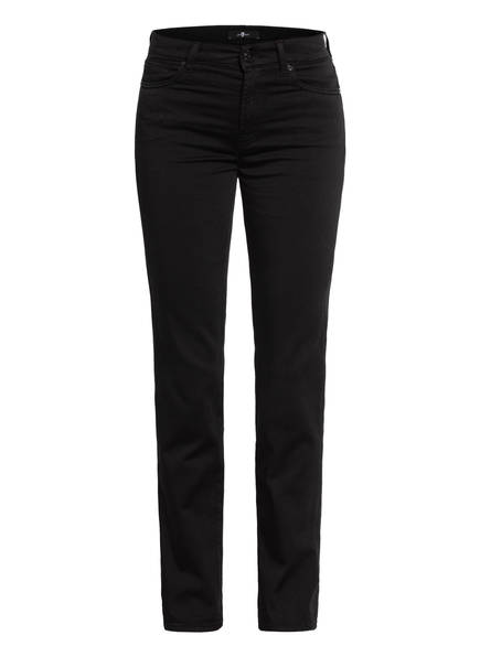 7 for all mankind Jeans THE STRAIGHT, Farbe: SATEEN BLACK (Bild 1)