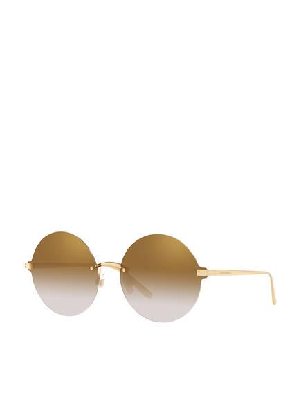 DOLCE&GABBANA Sonnenbrille DG 2228, Farbe: 02/6E - GOLD/ BEIGE VERLAUF (Bild 1)