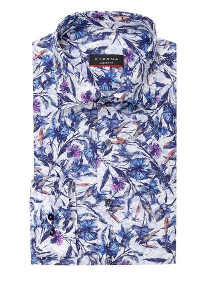 ETERNA Hemd Modern Fit, Farbe: BLAU/ WEISS/ LILA (Bild 1)
