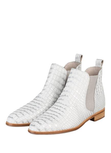 Pertini Chelsea-Boots, Farbe: WEISS/ SILBER (Bild 1)