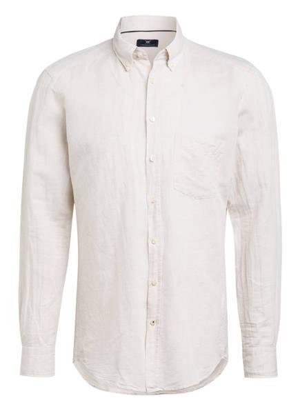 STROKESMAN'S Hemd Modern Fit mit Leinen, Farbe: BEIGE (Bild 1)