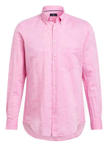STROKESMAN'S Hemd Modern Fit mit Leinen, Farbe: PNK (Bild 1)
