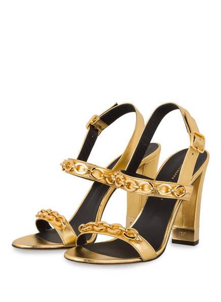GIUSEPPE ZANOTTI DESIGN Sandaletten, Farbe: GOLD (Bild 1)