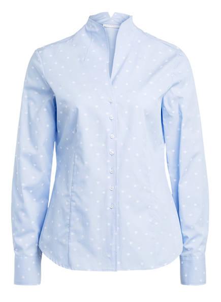 ETERNA Bluse, Farbe: HELLBLAU/ WEISS (Bild 1)