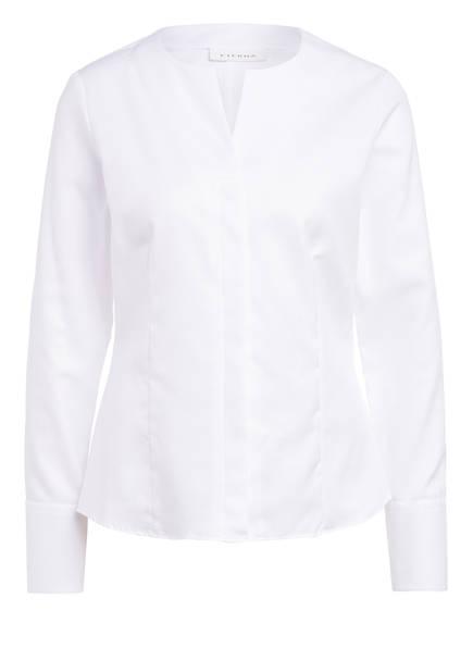 ETERNA Jacquard-Bluse, Farbe: WEISS (Bild 1)