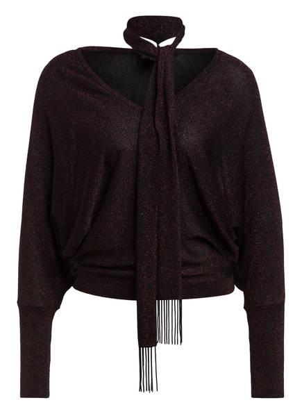 Phase Eight Pullover SAMEERA, Farbe: SCHWARZ/ DUNKELROT (Bild 1)