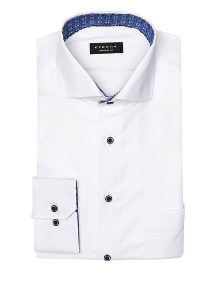ETERNA Piqué-Hemd Comfort Fit, Farbe: WEISS (Bild 1)