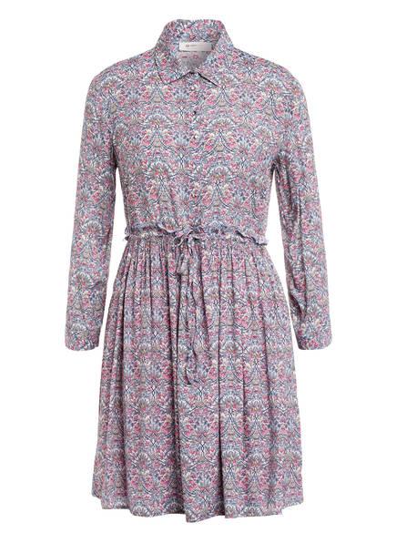 rich&royal Kleid mit 3/4-Arm , Farbe: WEISS/ BLAU/ PINK (Bild 1)