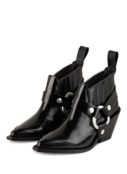 ZADIG&VOLTAIRE Cowboy Boots N'DRICKS, Farbe: SCHWARZ (Bild 1)