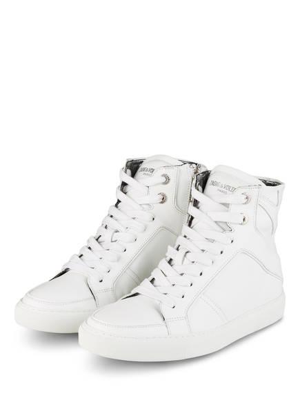 ZADIG&VOLTAIRE Hightop-Sneaker FLASH, Farbe: WEISS (Bild 1)