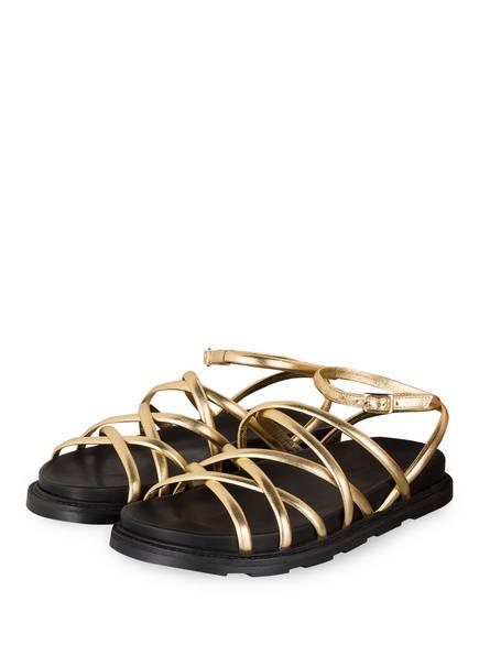 VIC MATIÉ Sandalen, Farbe: GOLD (Bild 1)