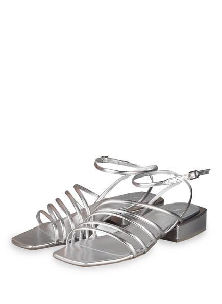VIC MATIÉ Sandalen, Farbe: SILBER (Bild 1)