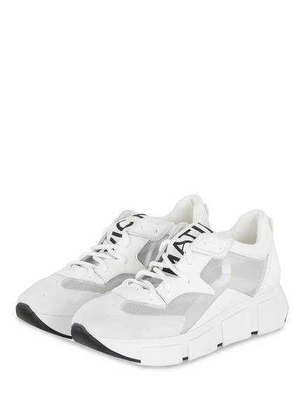 VIC MATIÉ Plateau-Sneaker, Farbe: WEISS (Bild 1)