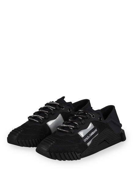 DOLCE&GABBANA Sneaker , Farbe: SCHWARZ/ SILBER (Bild 1)
