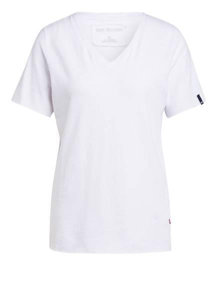 TRUE RELIGION T-Shirt mit Leinen, Farbe: WEISS (Bild 1)