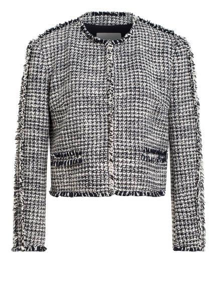 BOSS Tweed-Blazer JOHELLINA, Farbe: DUNKELBLAU/ WEISS (Bild 1)