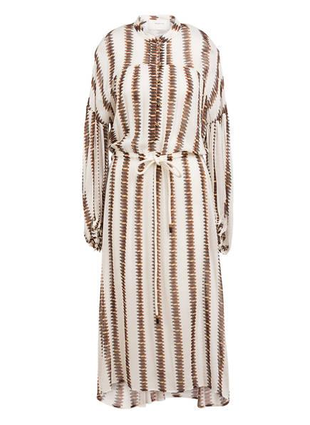 MUNTHE Kleid EIDEN, Farbe: WEISS/ BRAUN/ SCHWARZ (Bild 1)