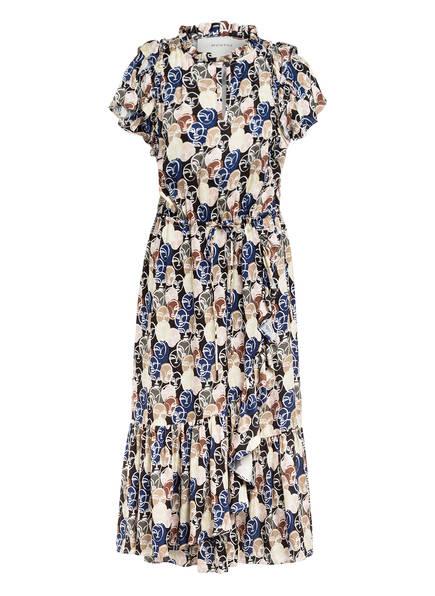 MUNTHE Kleid ELECT, Farbe: SCHWARZ/ ECRU/ BRAUN (Bild 1)