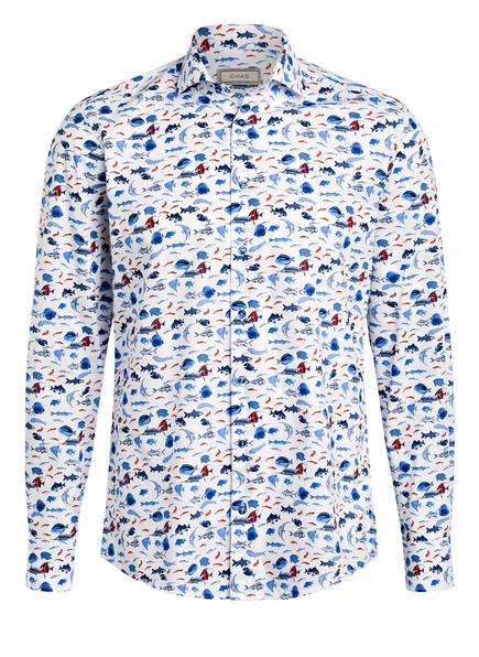 CHAS Hemd Regular Fit, Farbe: WEISS/ BLAU (Bild 1)