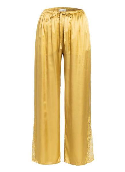 MUNTHE Hose UMEA mit Spitze, Farbe: GOLD (Bild 1)
