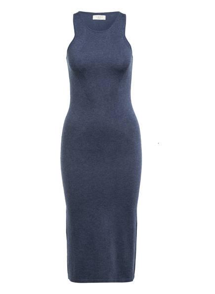 NORR Strickkleid CHLOE, Farbe: BLAU MELIERT (Bild 1)