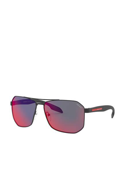 PRADA Sonnenbrille PS 51VS, Farbe: DG09Q1 - SCHWARZ/ PINK (Bild 1)